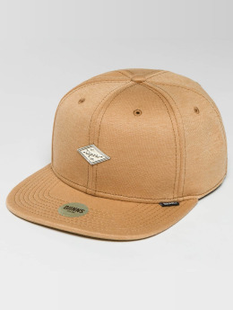 Djinns snapback cap 6 Panel Jersey Pin beige
