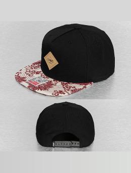 Djinns Snapback Cap Feather Crazy Pattern black