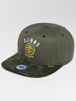 Djinns snapback cap Camo Snake 6 Panel camouflage