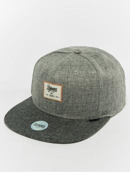 Djinns Snapback Cap 6p Jute Mix grau