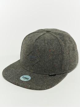 Djinns Snapback Cap 5p Spotted Edge grau