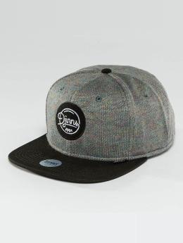 Djinns Snapback Cap Spots Duplex gray