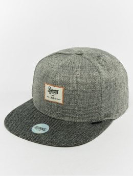 Djinns snapback cap 6p Jute Mix grijs