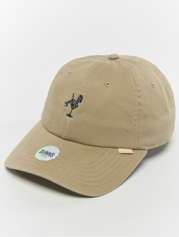 Djinns snapback cap Dad Washed Girl khaki