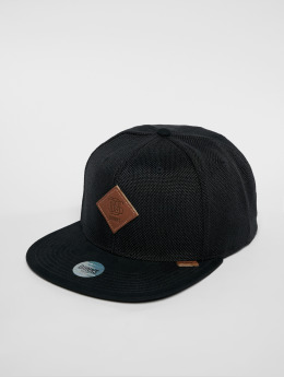 Djinns Snapback Cap 6p Suelin nero