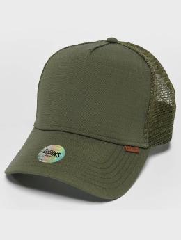 Djinns snapback cap M-Rib Stop olijfgroen