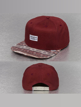 Djinns Snapback Cap Aztec And Structure red