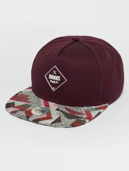 Djinns snapback cap Rubber Aztek rood
