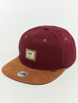 Djinns Snapback Cap 6p 10oz rosso