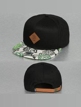Djinns Snapback Cap 6P Birds schwarz