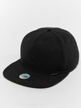 Djinns Snapback Cap 5p Spotted Edge schwarz