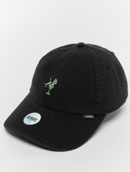 Djinns Snapback Cap Dad Washed Girl schwarz