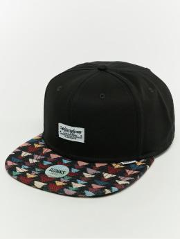 Djinns Snapback Caps 6p Wlu Triangle Rev. čern