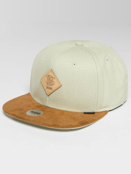 Djinns Snapback Caps 6 Panel Light Canvas béžový