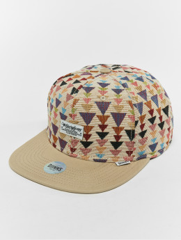 Djinns Snapback Caps 6p Wlu Triangle béžový