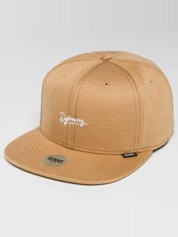 Djinns Snapback Caps 6 Panel Jersey Aloha beige