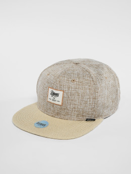 Djinns Snapback Caps 6p Jute Mix beige