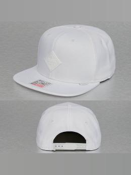 Djinns Snapback Caps Monochrome 6 Panel bialy