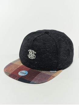 Djinns Snapback Caps 5p Wov Spot blå