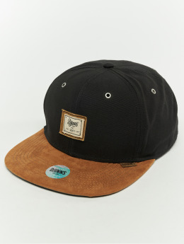 Djinns Snapback Caps 6p 10oz czarny