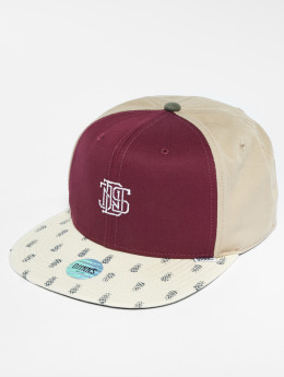 Djinns Snapback Caps 6p L-Block czerwony