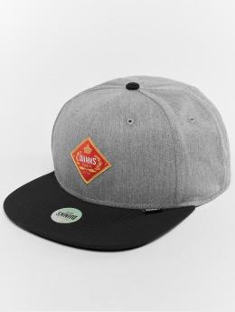 Djinns Snapback Caps 6p Cigar grå