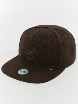 Djinns Snapback Caps 5p Spotted Edge hnědý