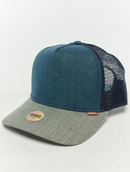 Djinns Snapback Caps Hft Denim 3.0 indigonsininen