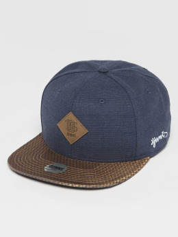 Djinns Snapback Caps Glen modrý