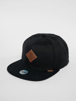Djinns Snapback Caps 6p Suelin musta
