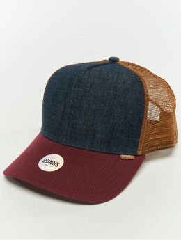 Djinns Snapback Caps Hft Denim 3.0 niebieski
