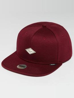 Djinns Snapback Caps 6 Panel Jersey Pin punainen