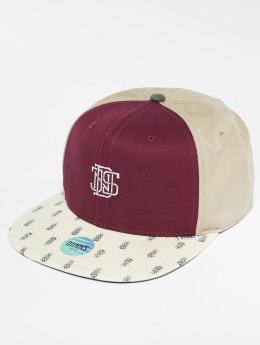 Djinns Snapback Caps 6p L-Block punainen