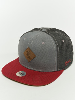 Djinns Snapbackkeps 6p Mix Canvas grå