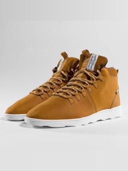 Djinns sneaker Trek High Light bruin