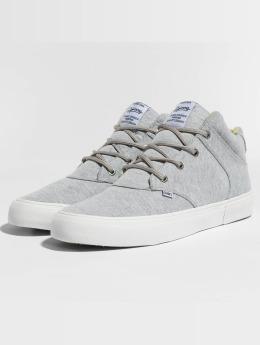 Djinns Sneakers Chunk Jersey Aloha grå