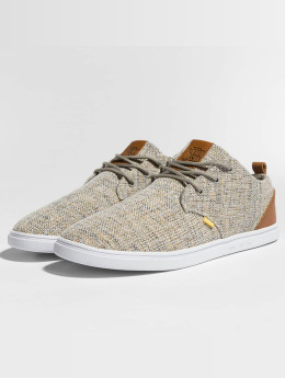Djinns Sneakers Low Lau Colored Linen grey