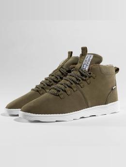 Djinns Sneakers Trek High Light olivová