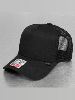 Djinns Trucker Cap Rib-Stop High black