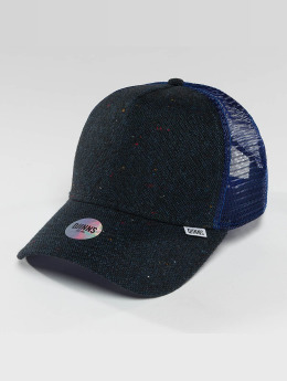 Djinns Trucker Cap HFT Felt Rubber blau
