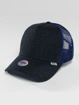 Djinns trucker cap HFT Felt Rubber blauw