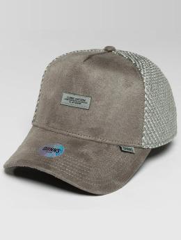 Djinns Trucker Cap HFT Part-Time Mesh grigio