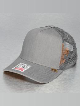 Djinns trucker cap Linen 2014 High Fitted grijs