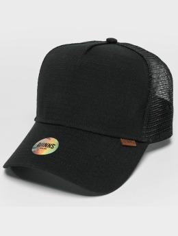 Djinns Trucker Cap M-Rib Stop High schwarz