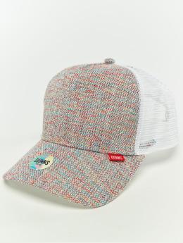 Djinns Männer,Frauen Trucker Cap Hft Colored Linen in weiß