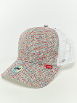 Djinns Trucker Cap Hft Colored Linen white