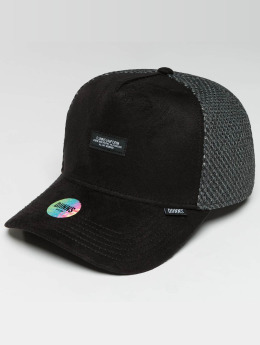 Djinns trucker cap HFT Part-Time Mesh zwart