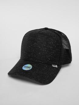 Djinns trucker cap Hft Wov Spot zwart