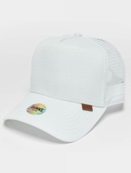 Djinns M-Rib Stop High Fitted Trucker Cap White