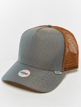 Djinns Trucker Caps Hft 2tone Oxford béžový